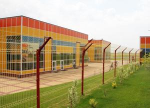 Ограждение FENSYS в Белгородской области «БЭЗРК-Белгранкорм»