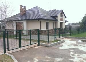 Ограждение FENSYS элитного посёлка в Московской области